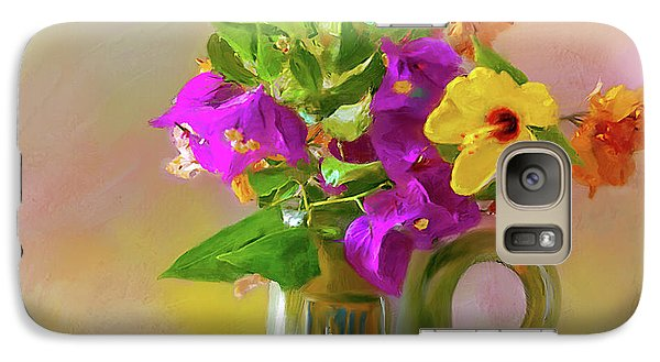 Bougainvilleas In A Green Jar. Galaxy S7 Case