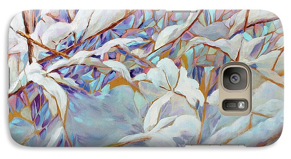 Galaxy Case featuring the painting Boughs In Winter by Joanne Smoley