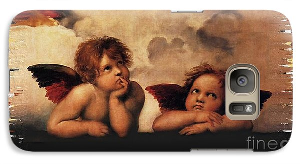 Galaxy Case featuring the painting Bouguereau Painting Fresh Paint  by Catherine Lott