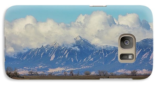 Galaxy Case featuring the photograph Boulder Colorado Front Range Cloud Pile On by James BO Insogna