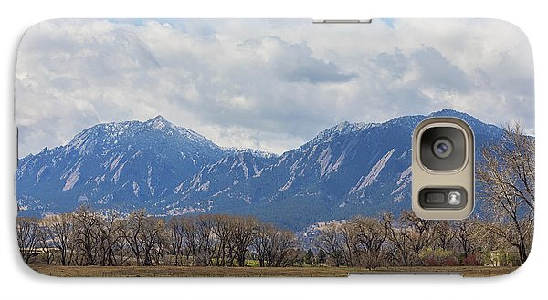 Galaxy Case featuring the photograph Boulder Colorado Prairie Dog View  by James BO Insogna