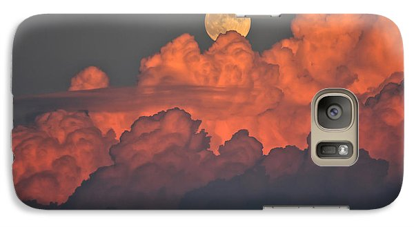 Galaxy Case featuring the photograph Bouncing On Dreams by James Menzies