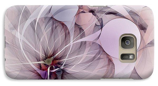 Galaxy Case featuring the digital art Bound Away - Fractal Art by NirvanaBlues