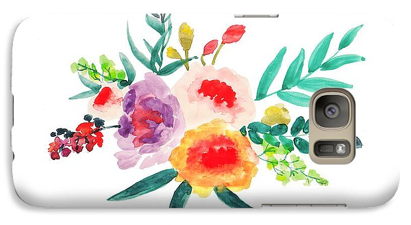 Bouquet Chic Galaxy Case by Rasirote Buakeeree