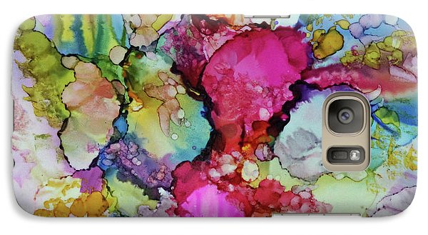 Galaxy Case featuring the painting Bouquet In Pastel by Joanne Smoley