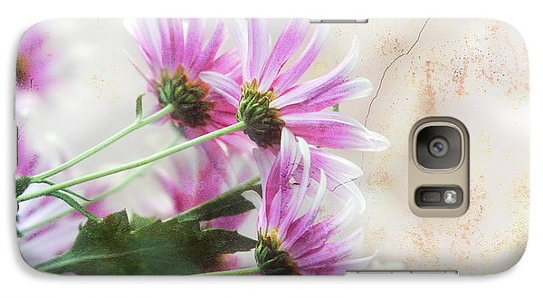 Galaxy Case featuring the photograph Bouquet In Pink by Joan Bertucci