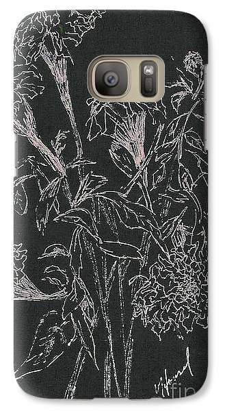 Galaxy Case featuring the painting Bouquet Of Flowers  by Vicki  Housel