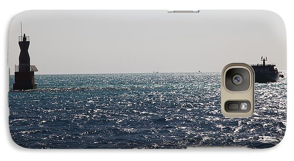 Galaxy Case featuring the photograph Bouy Oh Bouy by Jez C Self