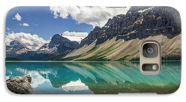 Galaxy Case featuring the photograph Bow Lake by Christina Lihani