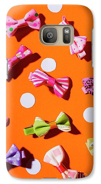 Galaxy S7 Case featuring the photograph Bow Tie Party by Jorgo Photography - Wall Art Gallery