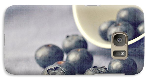 Galaxy S7 Case - Bowl Of Blueberries by Lyn Randle