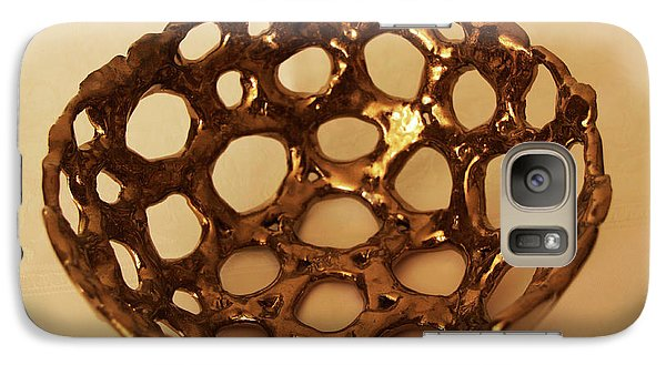 Galaxy Case featuring the photograph Bowle Of Holes by Itzhak Richter