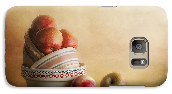 Apple Galaxy S7 Case - Bowls And Apples Still Life by Tom Mc Nemar