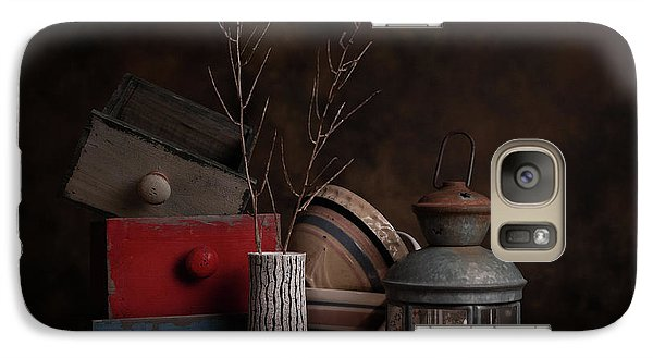 Galaxy Case featuring the photograph Boxes And Bowls by Tom Mc Nemar