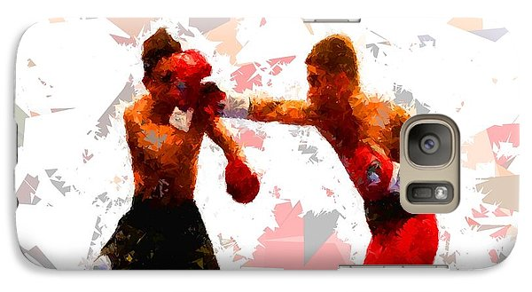 Galaxy Case featuring the painting Boxing 113 by Movie Poster Prints