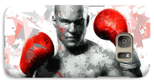 Galaxy Case featuring the painting Boxing 114 by Movie Poster Prints
