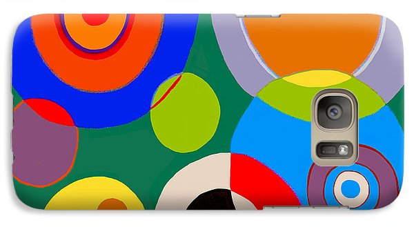 Galaxy Case featuring the painting boy by Beth Saffer