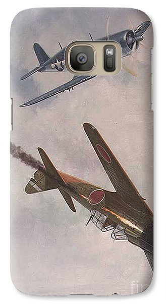 Galaxy Case featuring the painting Boyington Christmas by Paul Clinkunbroomer