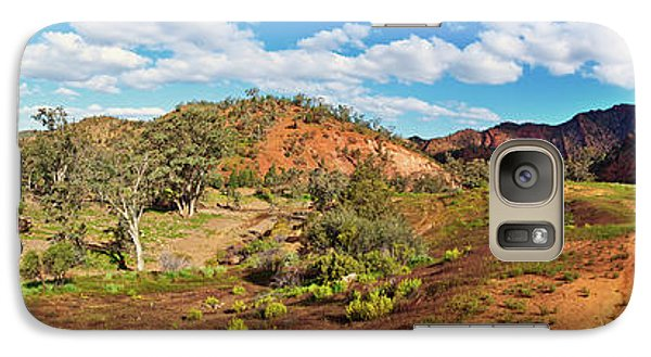 Galaxy Case featuring the photograph Bracchina Gorge Flinders Ranges South Australia by Bill Robinson
