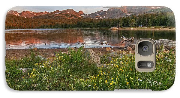 Galaxy Case featuring the photograph Brainard Lake by Gary Lengyel