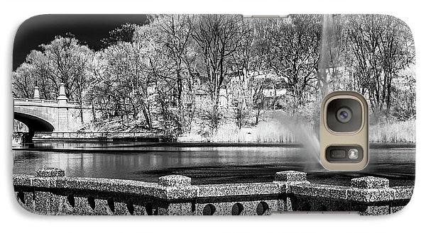 Galaxy Case featuring the photograph Branch Brook Park New Jersey Ir by Susan Candelario