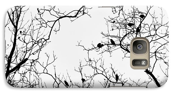 Branches And Birds Galaxy S7 Case by Sandy Taylor
