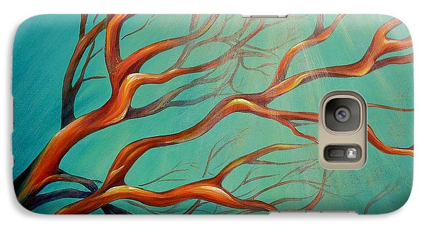 Galaxy Case featuring the painting Branching Out by Dina Dargo
