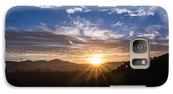 Galaxy Case featuring the photograph Brand New Day  by Jeremy McKay