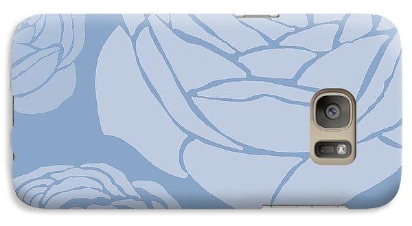 Rose Galaxy S7 Case - Brandon Rose by Sarah Hough
