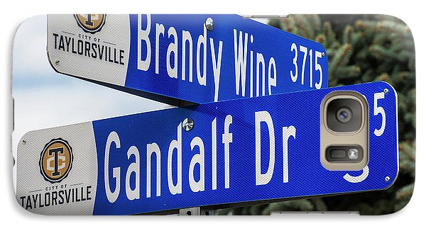 Galaxy Case featuring the photograph Brandywine And Gandalf Street Signs by Gary Whitton