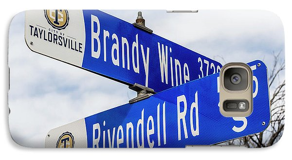 Galaxy Case featuring the photograph Brandywine And Rivendell Street Signs by Gary Whitton