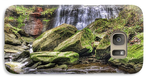 Galaxy Case featuring the photograph Brandywine Falls by Brent Durken