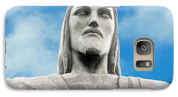 Galaxy Case featuring the photograph Brazilian Christ by Kim Wilson