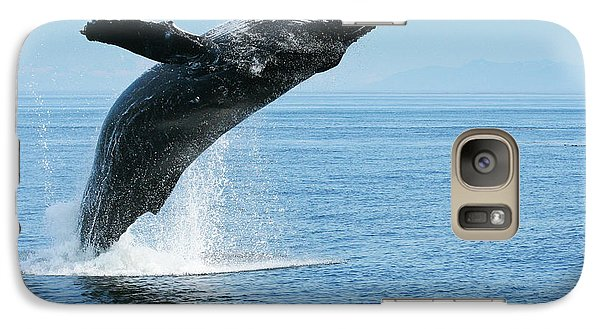 Breaching Humpback Whale Galaxy S7 Case