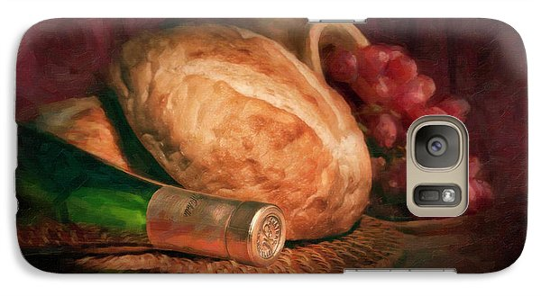 Bread And Wine Galaxy S7 Case