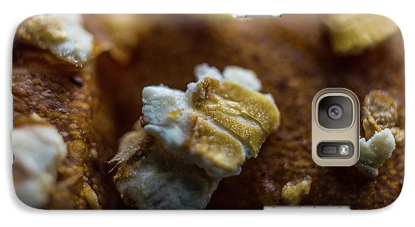 Galaxy Case featuring the photograph Bread Macro Food by David Haskett