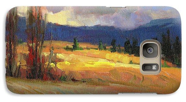 Pasture Galaxy S7 Case - Break In The Weather by Steve Henderson