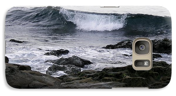 Galaxy Case featuring the photograph Breaking Waves by Carol  Bradley