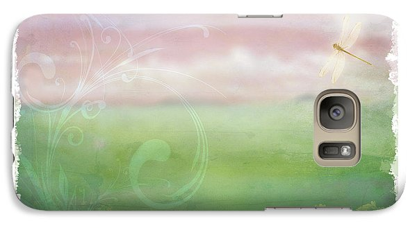 Galaxy Case featuring the digital art Breath Of Spring by Christina Lihani