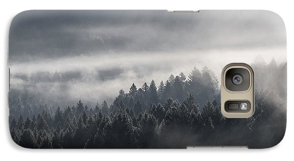 Galaxy Case featuring the photograph Breath Of The Forest by Yuri Santin