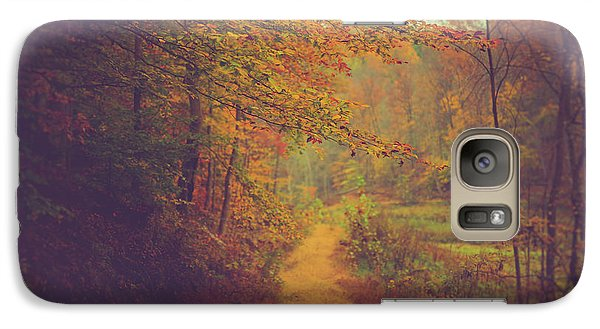 Galaxy Case featuring the photograph Breathe In Autumn by Shane Holsclaw