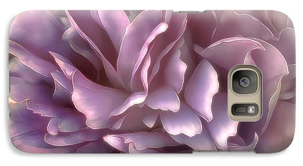 Galaxy Case featuring the photograph Breeze In Deep Pink by Darlene Kwiatkowski
