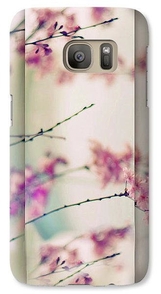 Galaxy Case featuring the photograph Breezy Blossom Panel by Jessica Jenney