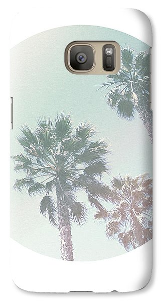 Breezy Palm Trees- Art By Linda Woods Galaxy S7 Case