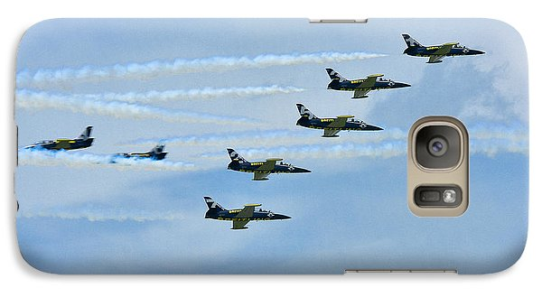 Galaxy Case featuring the photograph Breitling Air Show by Linda Constant
