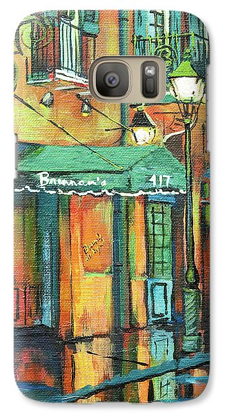 Galaxy Case featuring the painting Brennan's by Dianne Parks