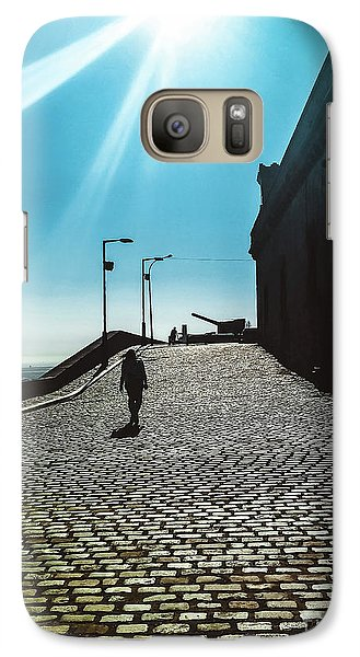 Galaxy Case featuring the photograph Brick By Brick by Colleen Kammerer
