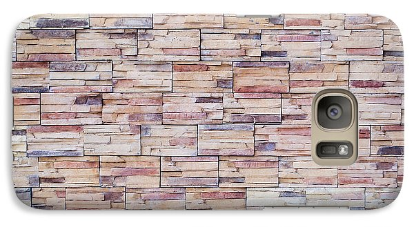 Galaxy Case featuring the photograph Brick Tiled Wall by John Williams