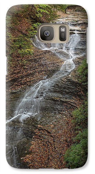 Galaxy Case featuring the photograph Bridal Veil Falls by Dale Kincaid