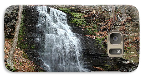 Galaxy Case featuring the photograph Bridal Veil Falls by Linda Sannuti